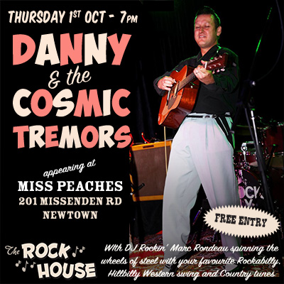 Danny and the Cosmic tremors