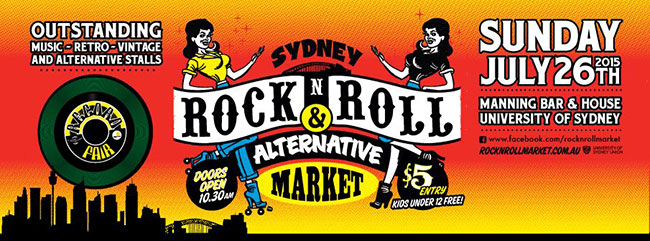 July rock and roll markets