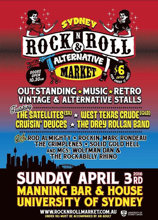 Sydney Rock and Roll Markets April 2016